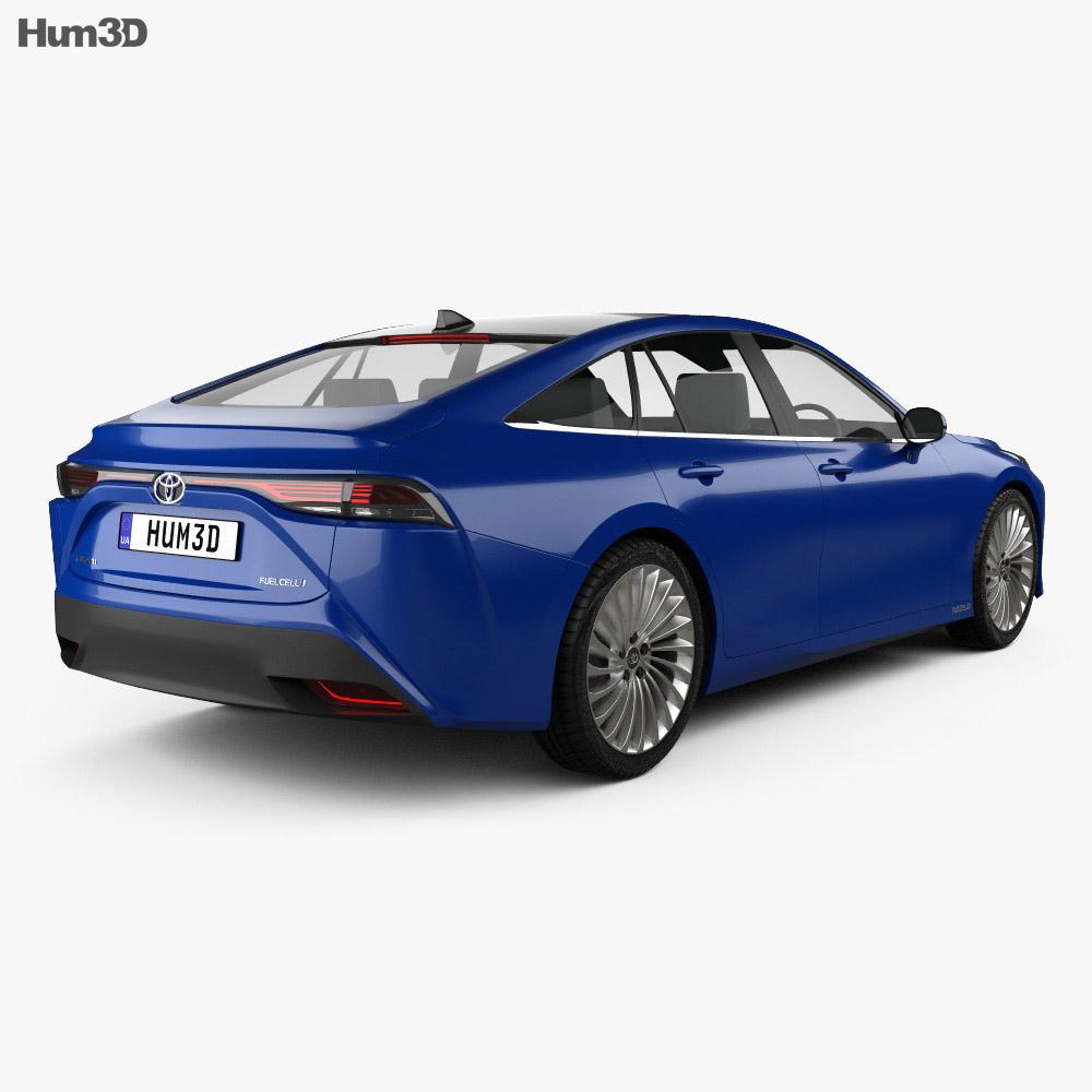 Toyota Mirai 2019 3d model
