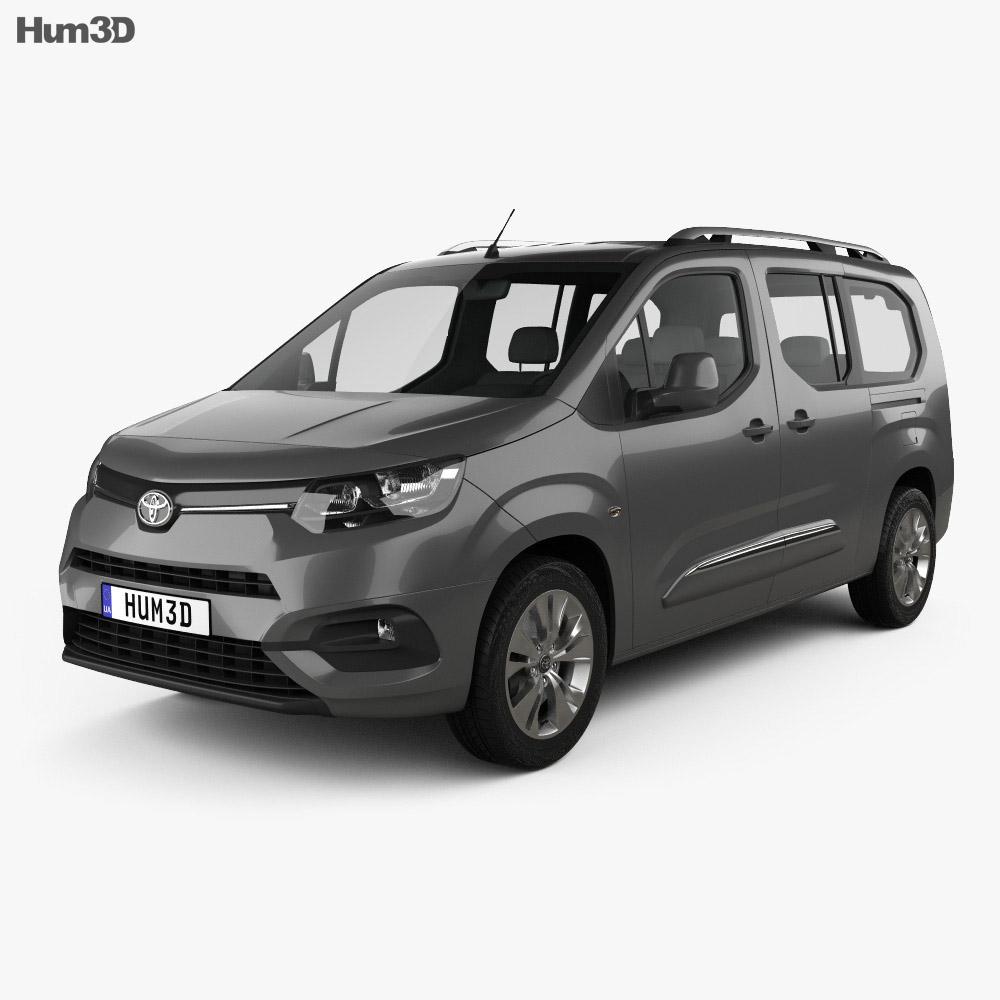 Toyota ProAce City Verso L2 2019 3d model