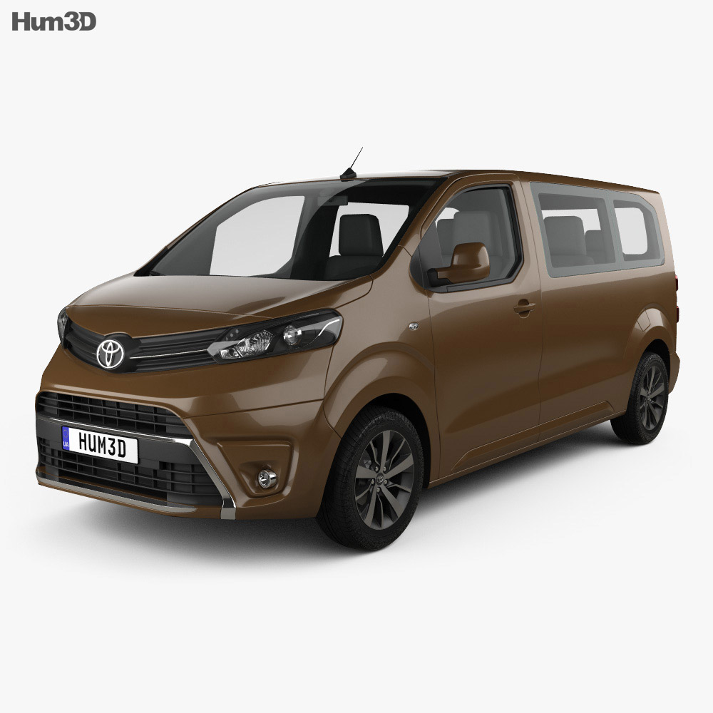 Toyota Proace 2016 3d model