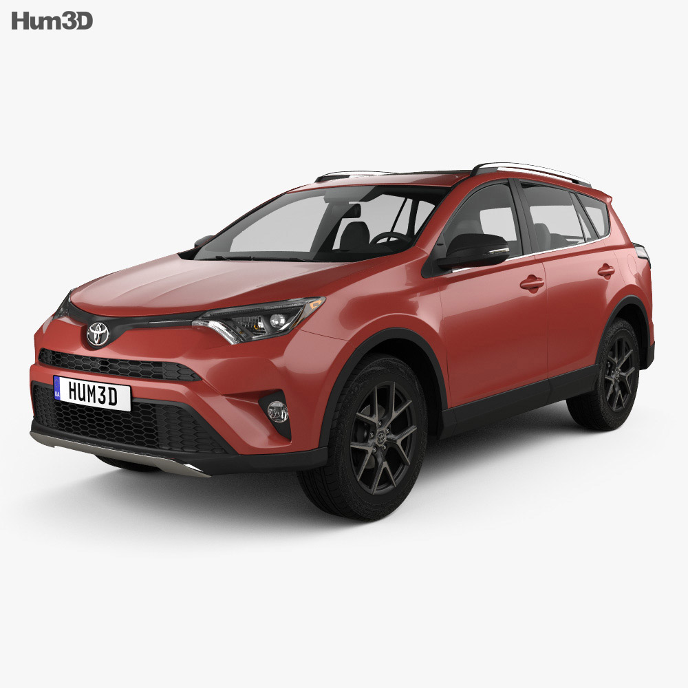Toyota RAV4 SE 2016 3d model