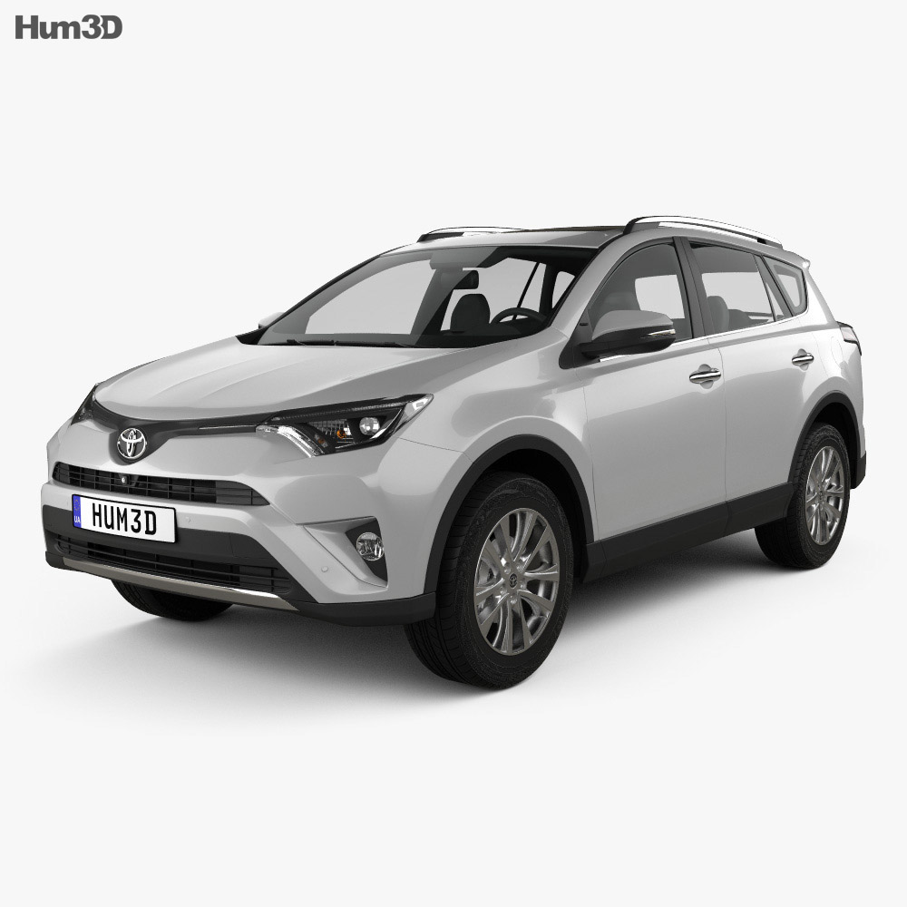 Toyota RAV4 VXR 2016 3d model