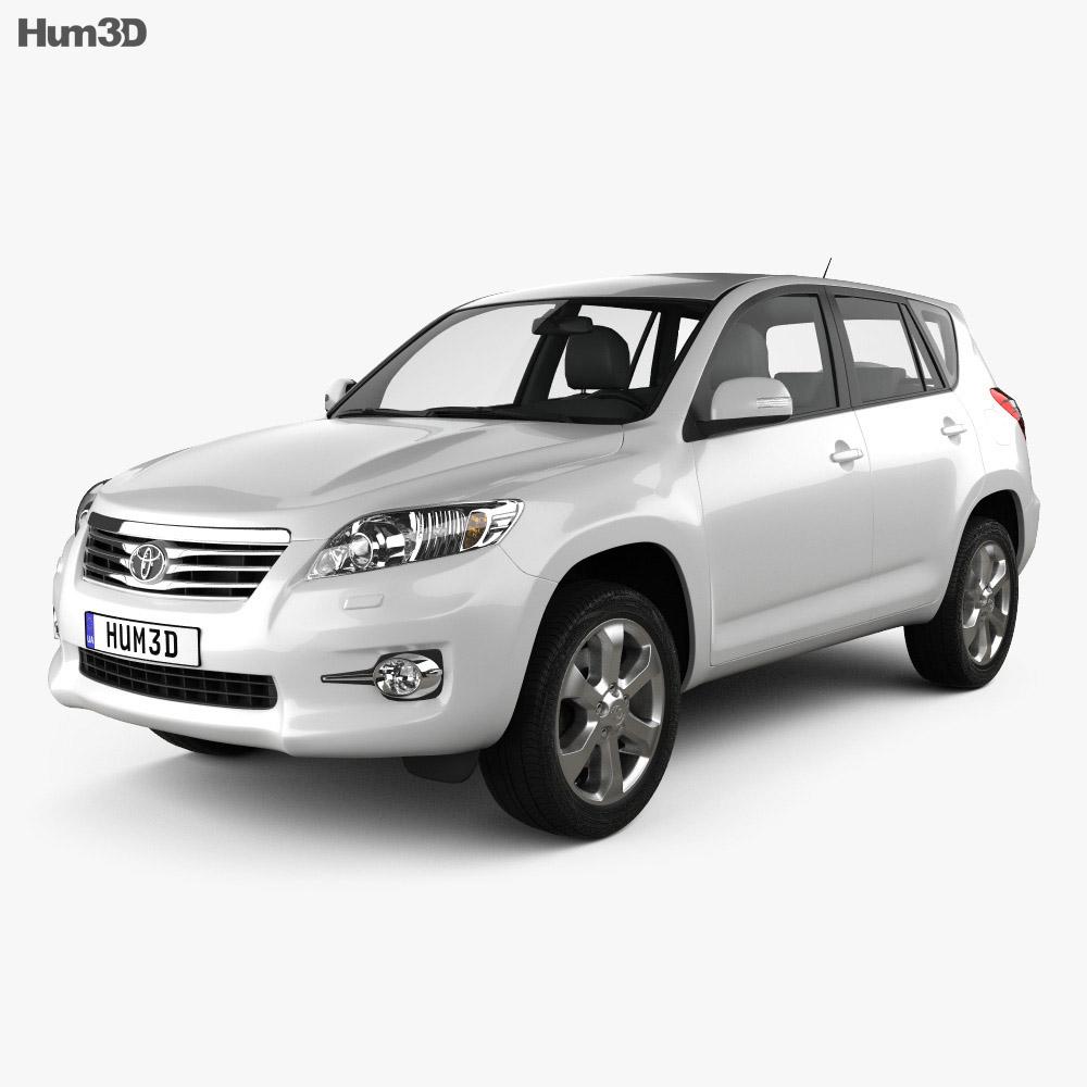 Toyota Rav4 European (Vanguard) 2012 3d model