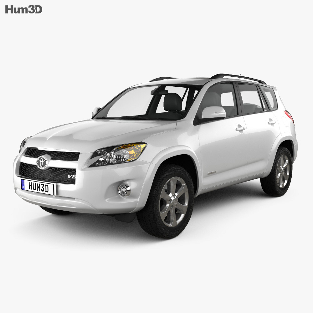 Toyota Rav4 US 2012 3d model