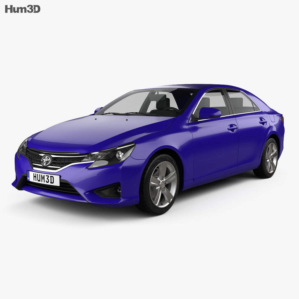 Toyota Mark X (Reiz) 2012 3d model