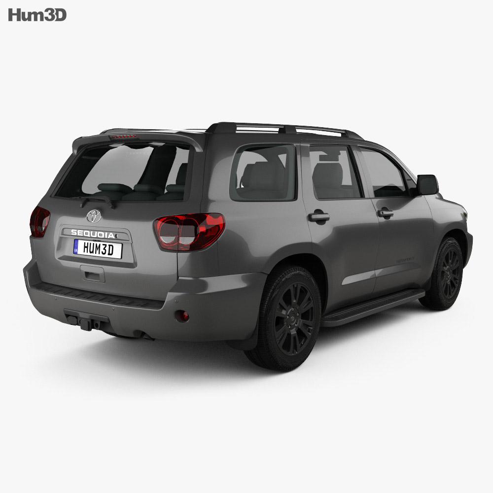 Toyota Sequoia TRD Sport 2018 3d model