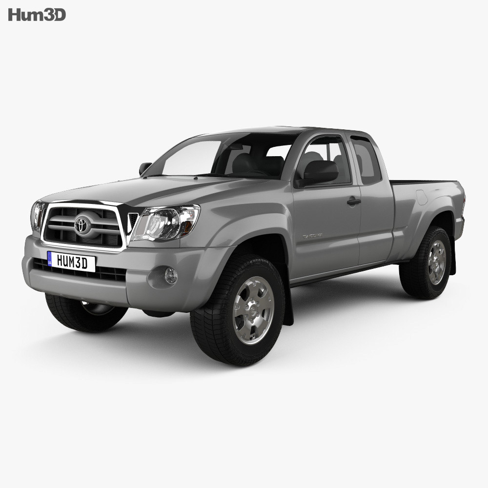 Toyota Tacoma Access Cab 2011 3d model
