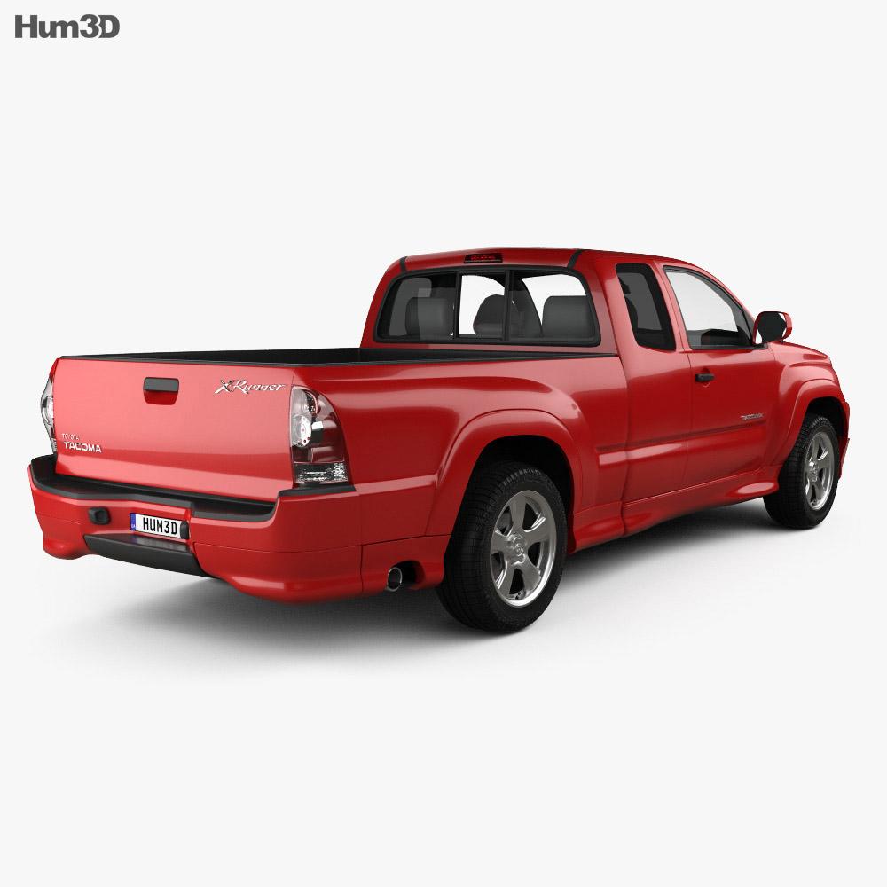 Toyota Tacoma X-Runner 2012 3d model