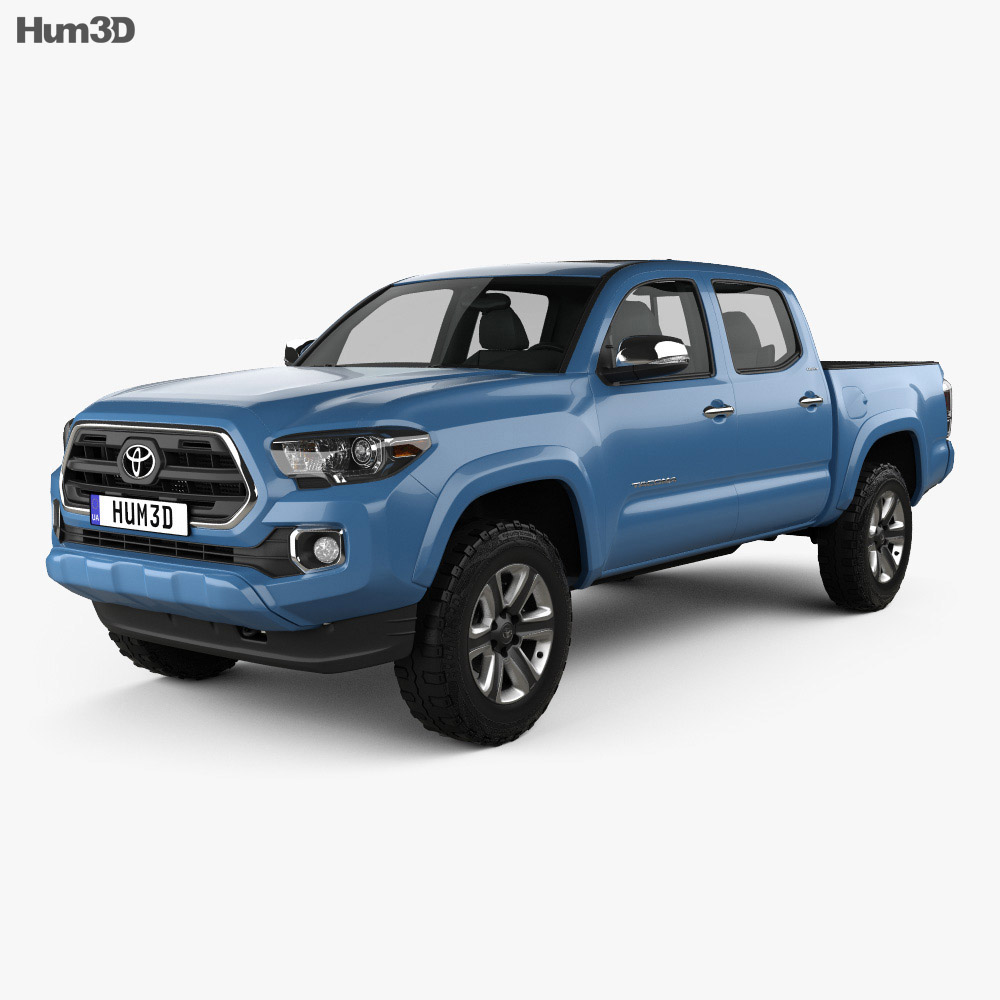 Toyota Tacoma Double Cab Short Bed 2014 3d model