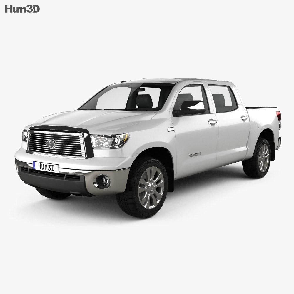 Toyota Tundra Crew Max 2011 3d model