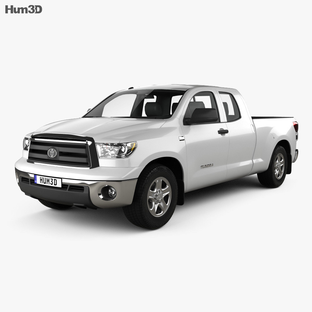 Toyota Tundra Double Cab 2011 3d model
