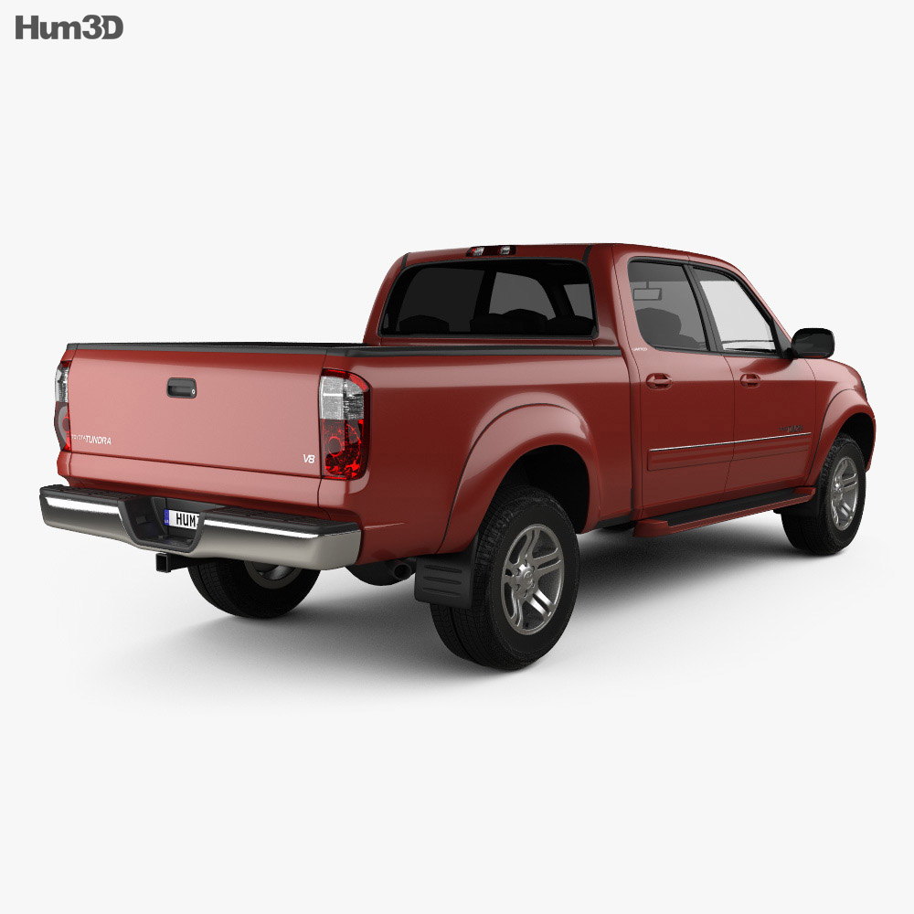 toyota tundra double cab 2003 3d model hum3d. Black Bedroom Furniture Sets. Home Design Ideas