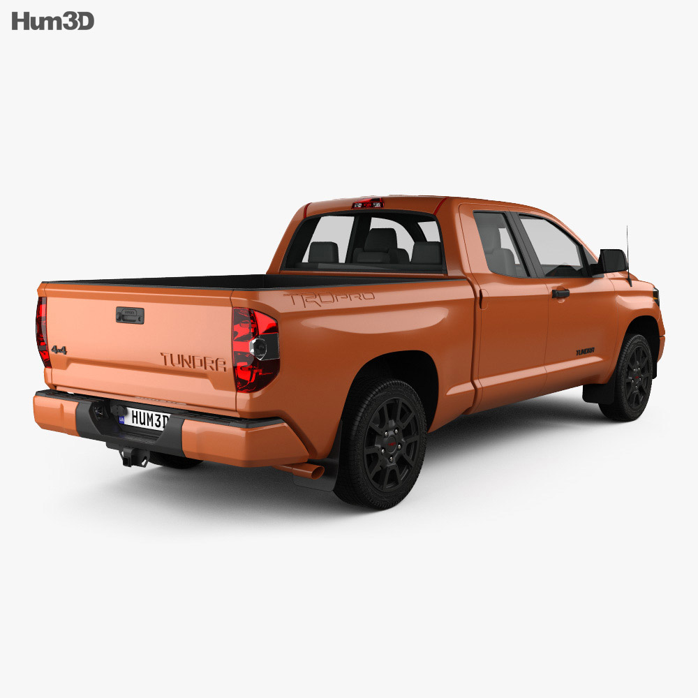 Toyota Tundra Double Cab TRD Pro 2014 3d model