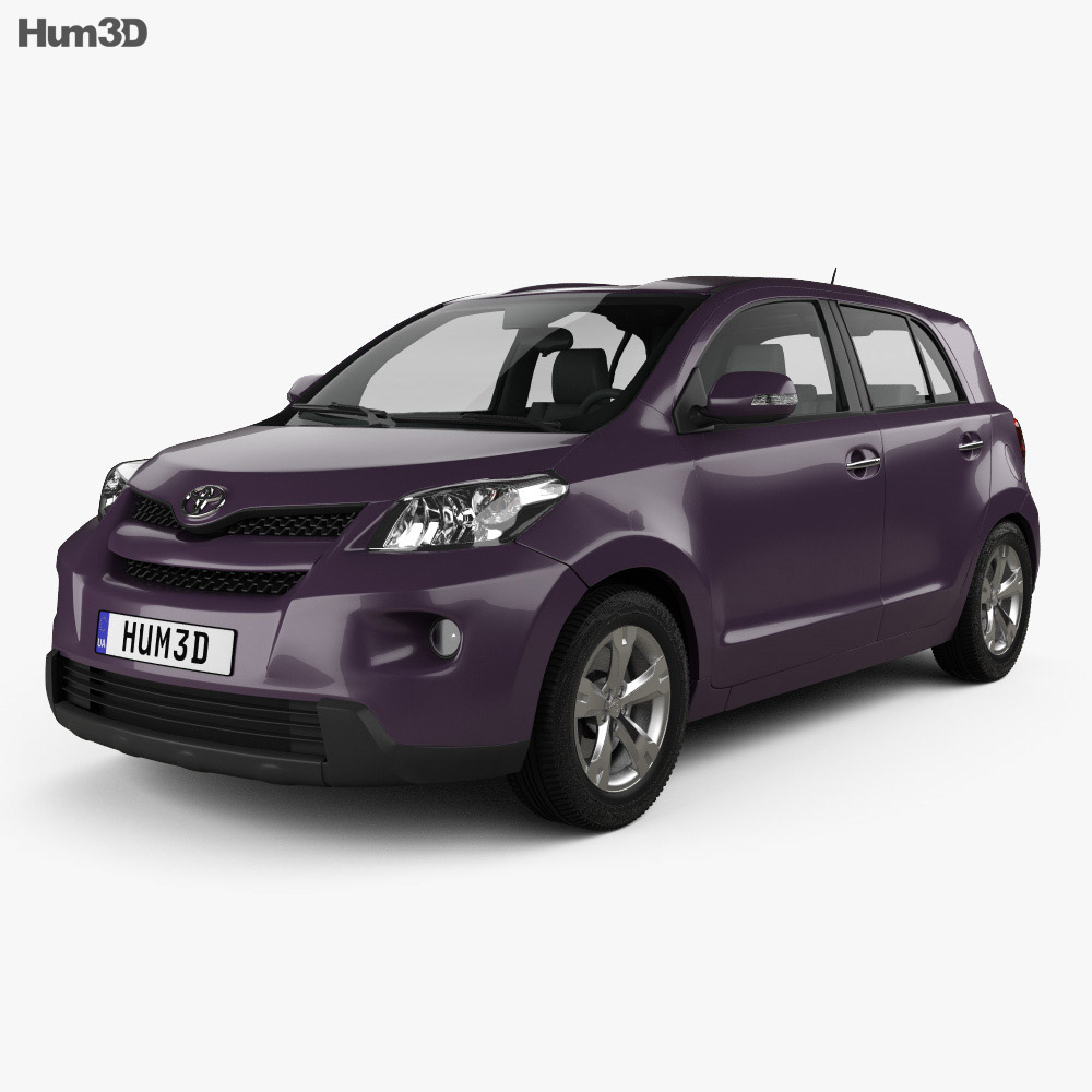 Toyota Urban Cruiser 2008 3d model