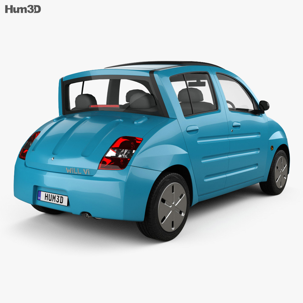 Toyota WiLL Vi Canvas Top 2000 3d model
