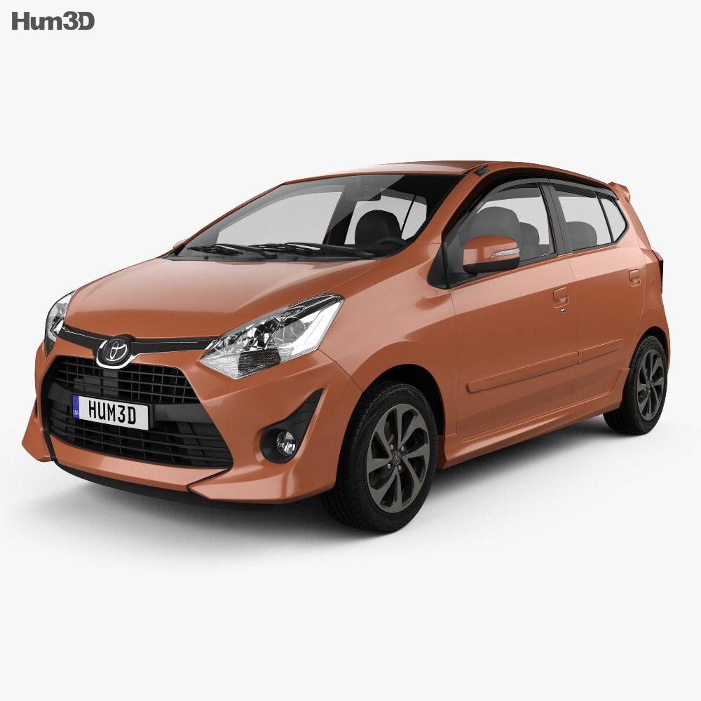 Toyota Wigo G 2018 3d model