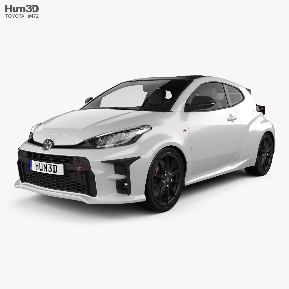 Toyota Yaris GR 2020 3d model