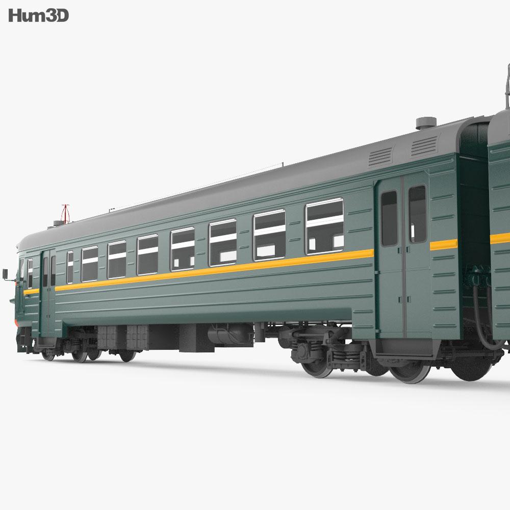 ER9PK-160-SL Suburban train 3d model
