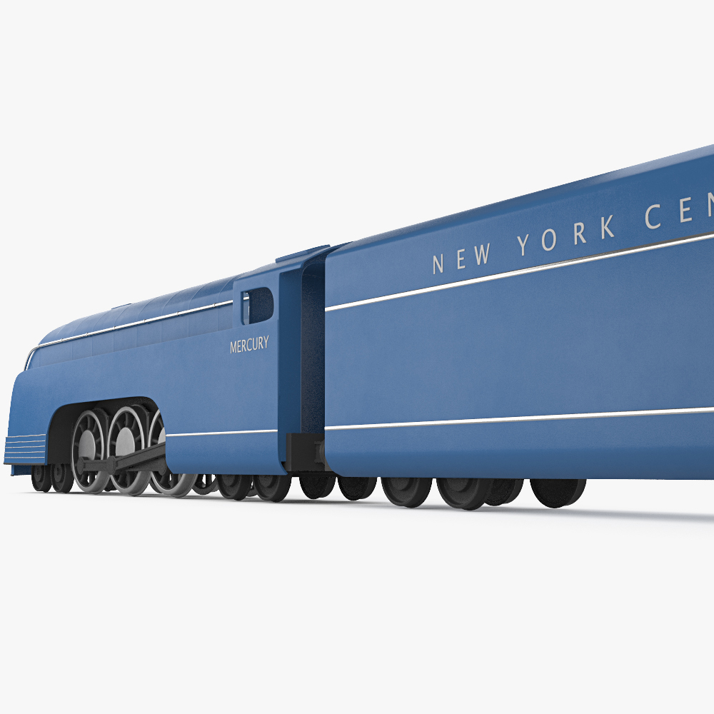 Mercury train 3d model