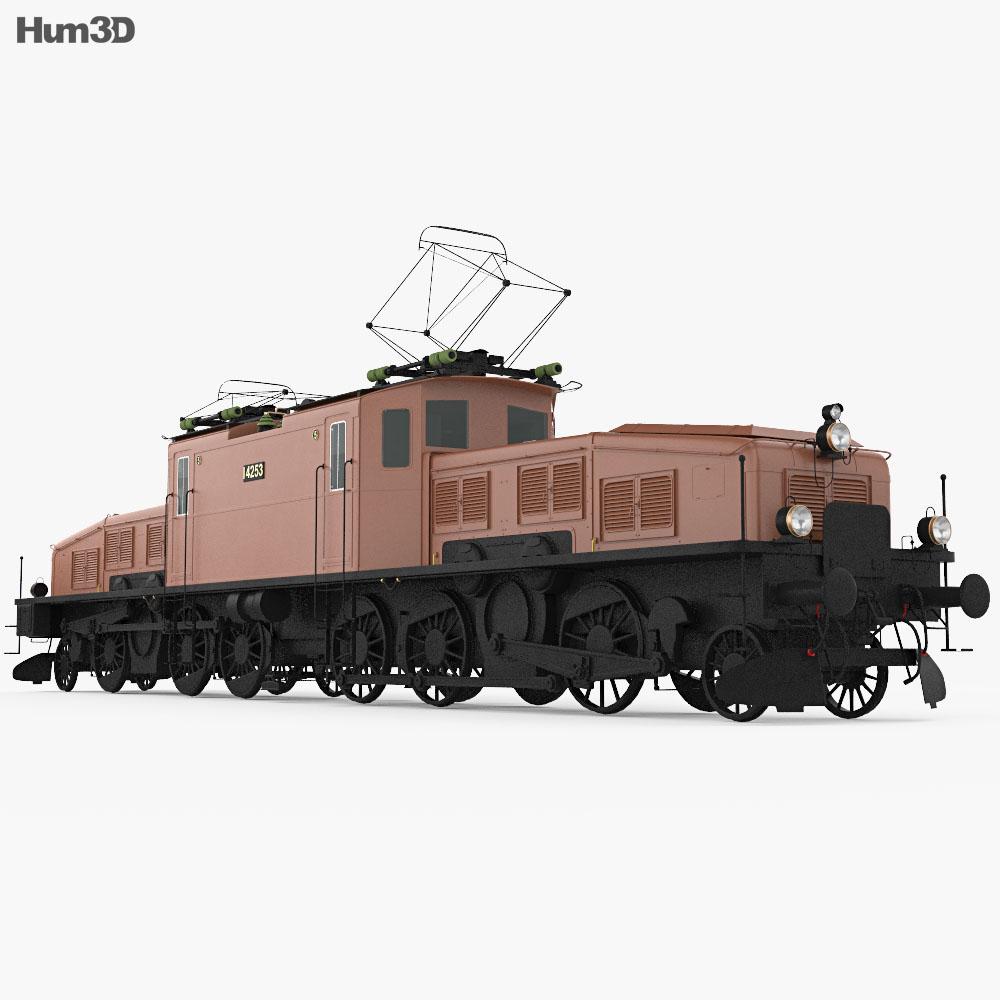 SBB Ce 6/8 San Gottardo 1920 3d model