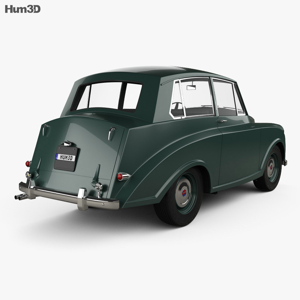 Triumph Mayflower 1949 3d model