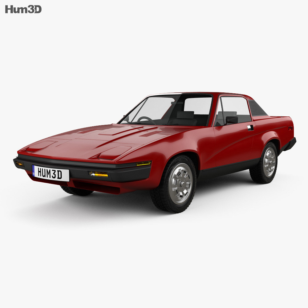 Triumph Tr7 1974 3d Model Vehicles On Hum3d