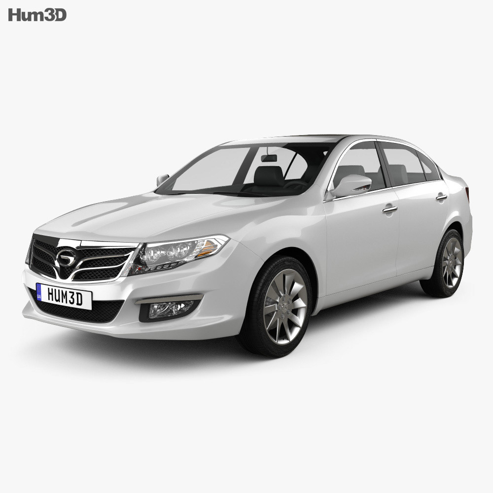 Trumpchi GA5 2013 3d model