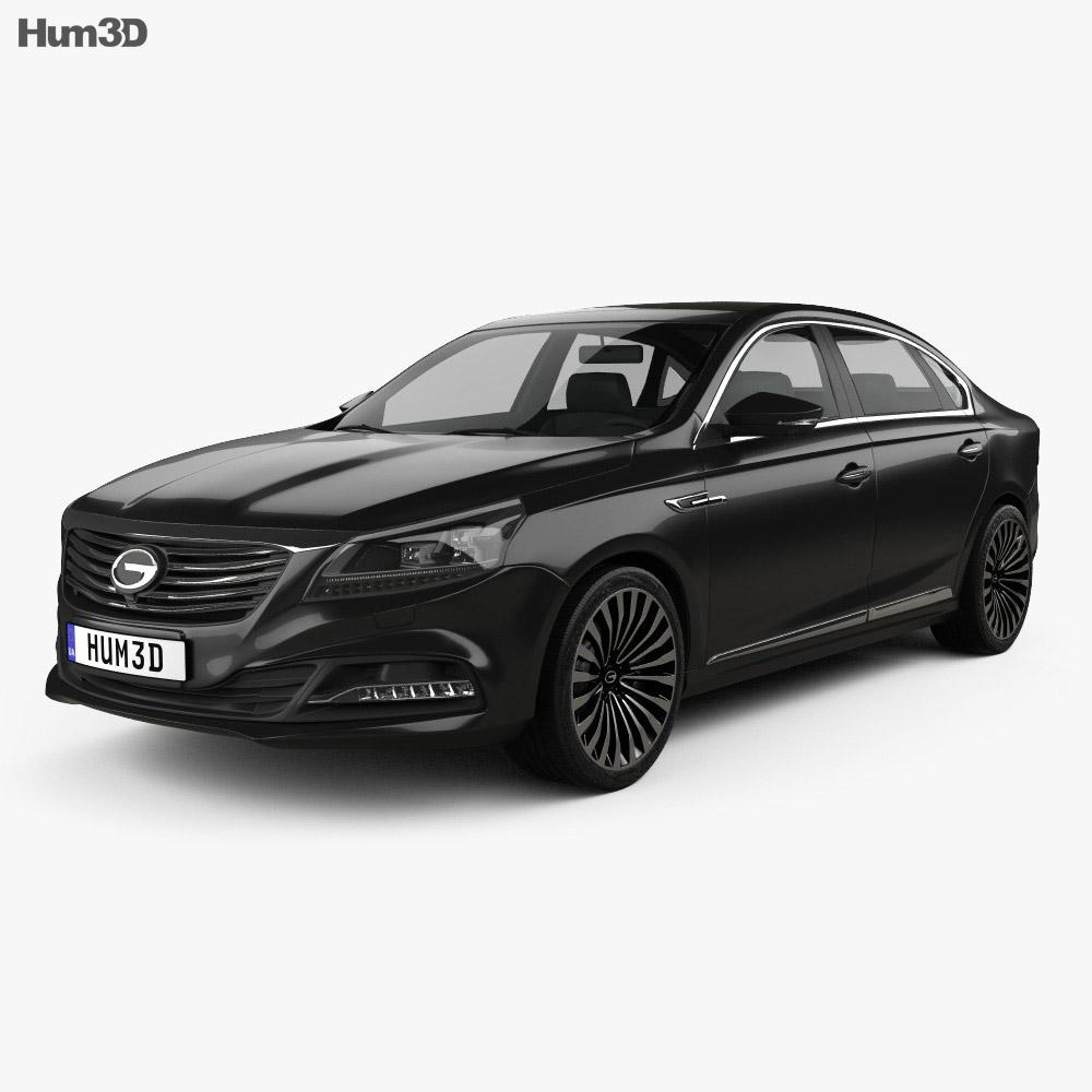 Trumpchi GA8 2016 3d model