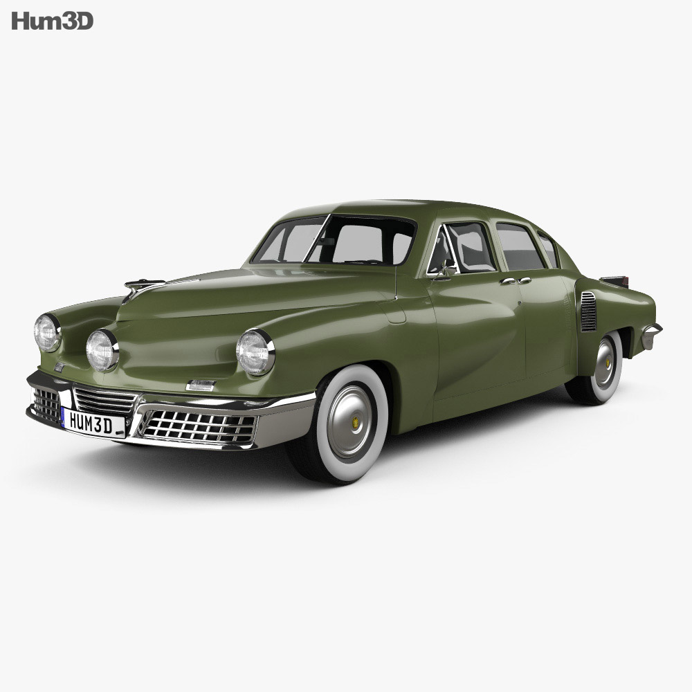 Tucker 48 Torpedo 1948 3d model