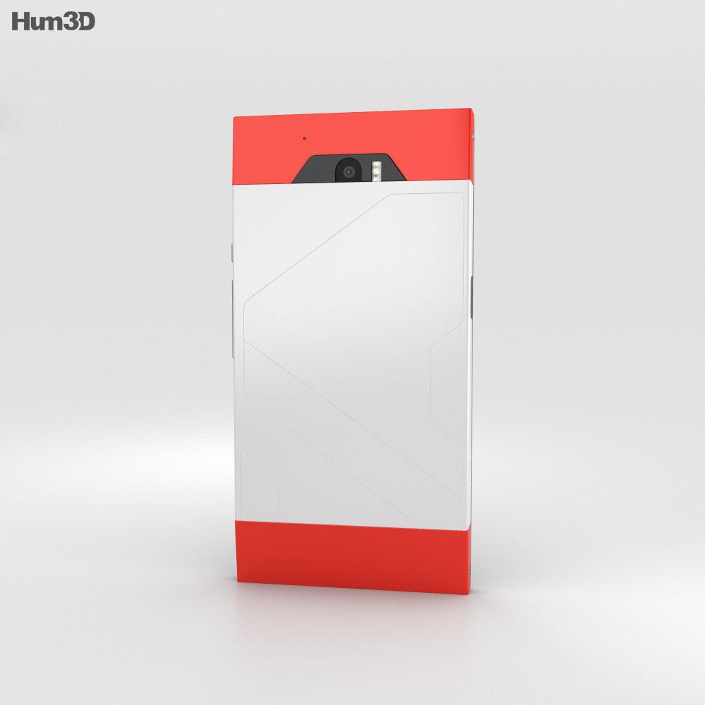 Turing Phone Cardinal 3d model
