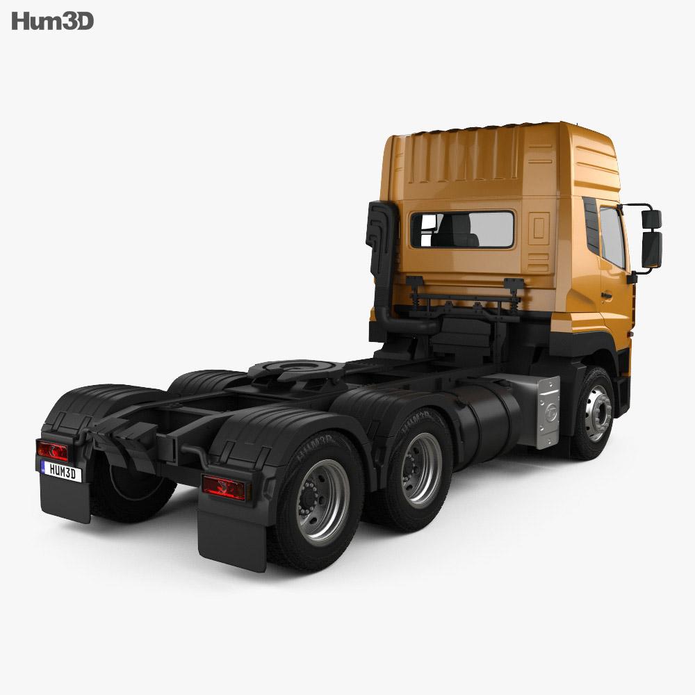 UD Trucks Quester Tractor Truck 2013 3d model
