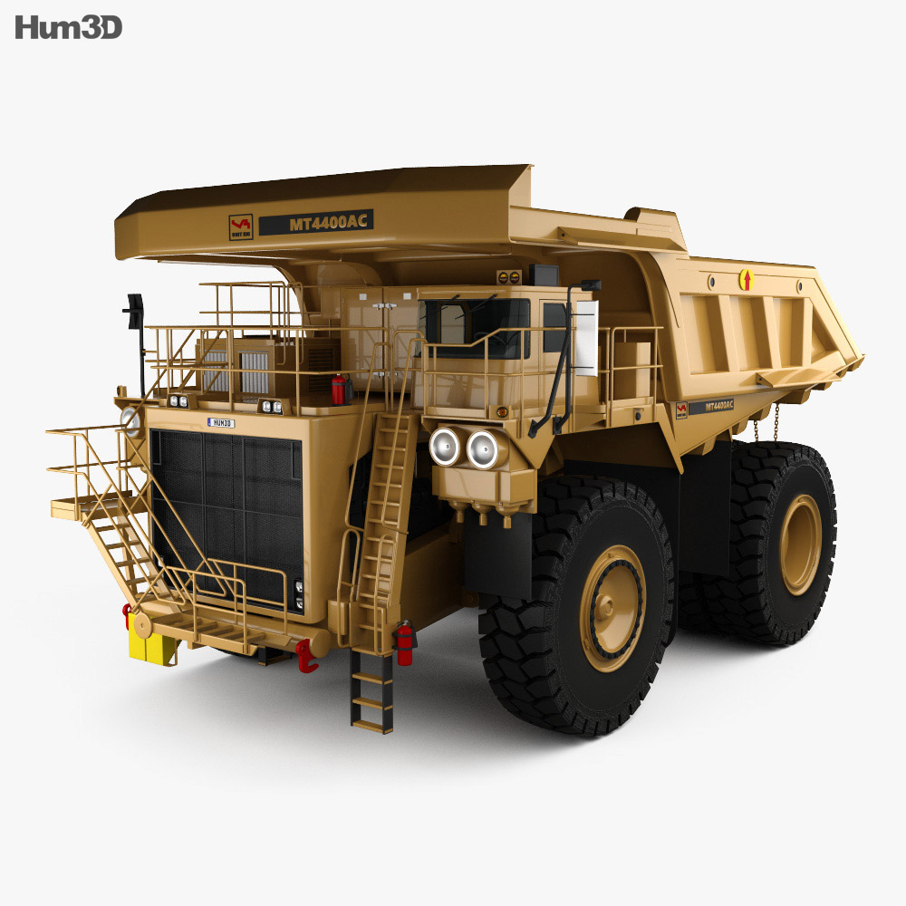 Unit Rig MT4400AC Dump Truck 2012 3d model