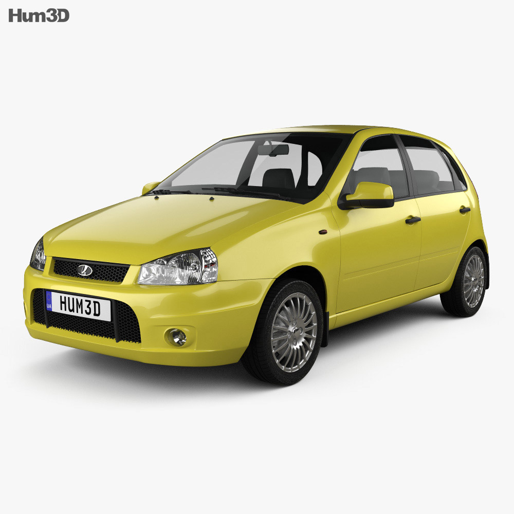 Lada Kalina (1119) hatchback Sport 2011 3d model