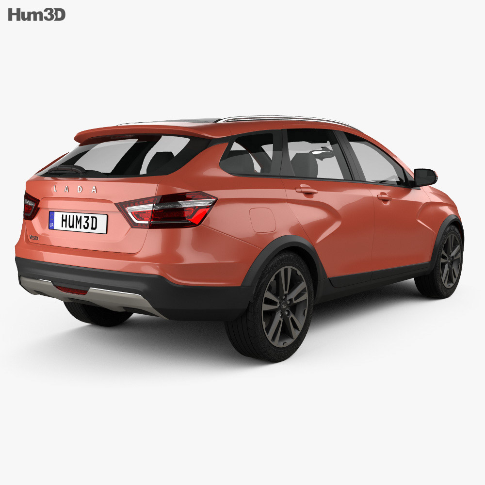 VAZ Lada Vesta Cross 2015 3d model