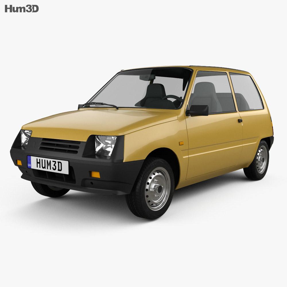 Lada Oka 1111 1989 3d model