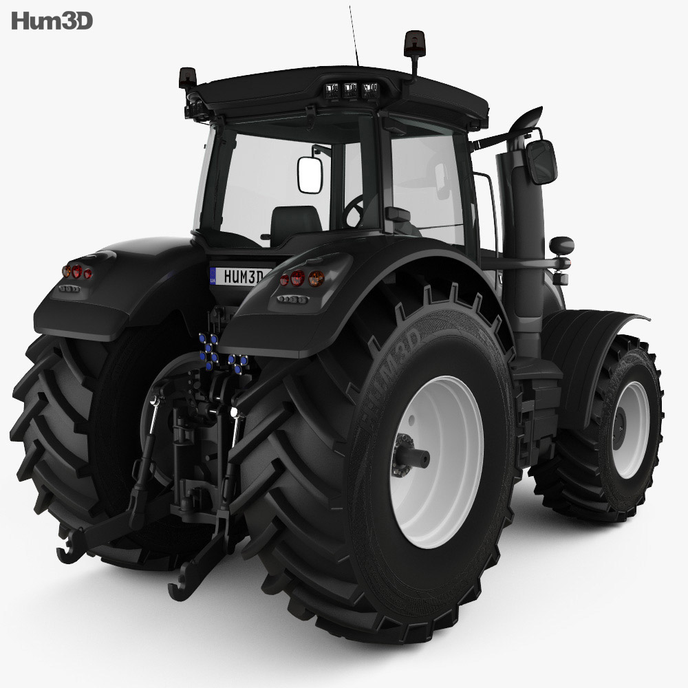 Valtra Serie S Tractor 2019 3d model