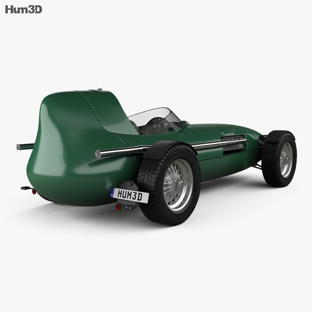 Vanwall GPR V12 1958 3d model