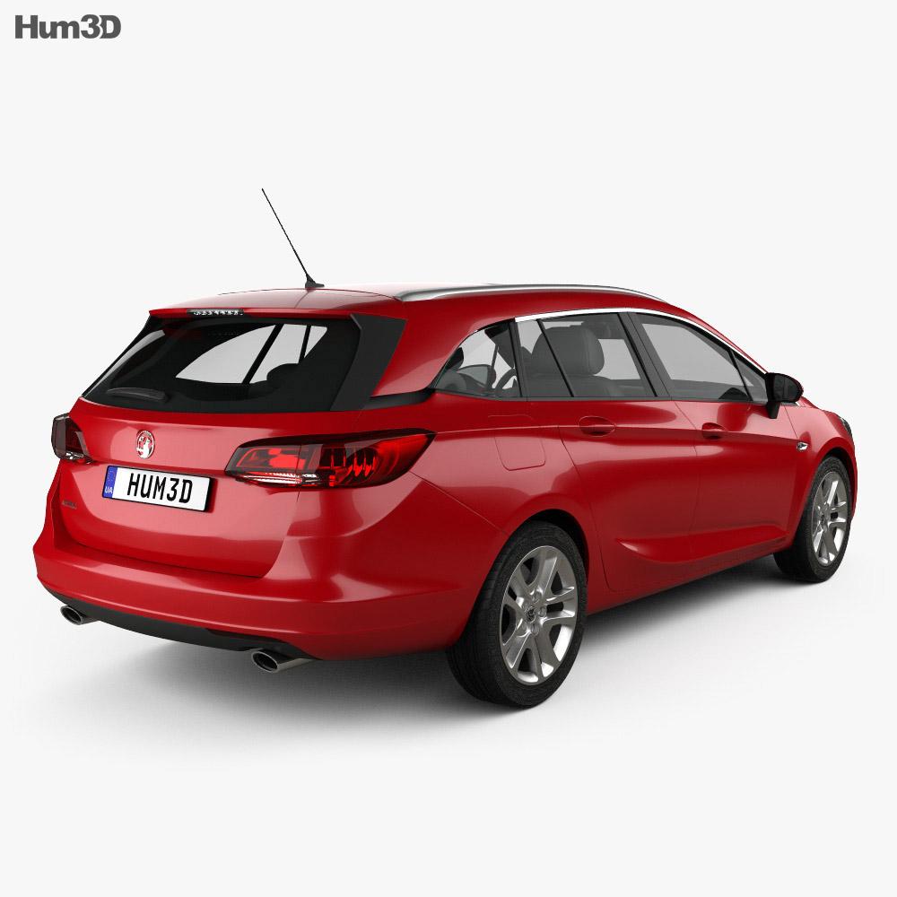 Vauxhall Astra (K) Sports Tourer Design 2016 3d model