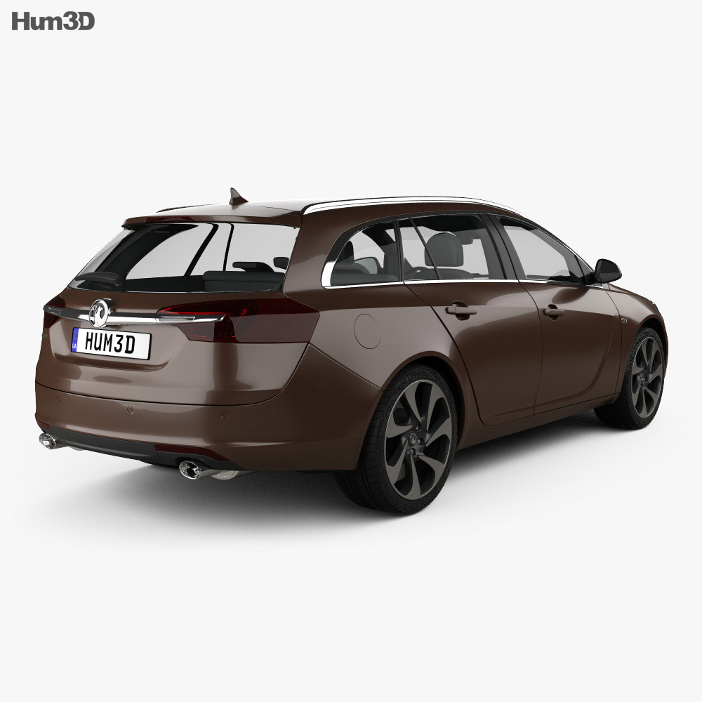 Vauxhall Insignia Sports Tourer 2013 3d model