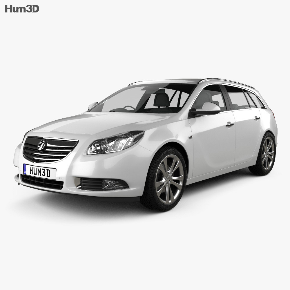 Vauxhall Insignia Sports Tourer 2010 3d model