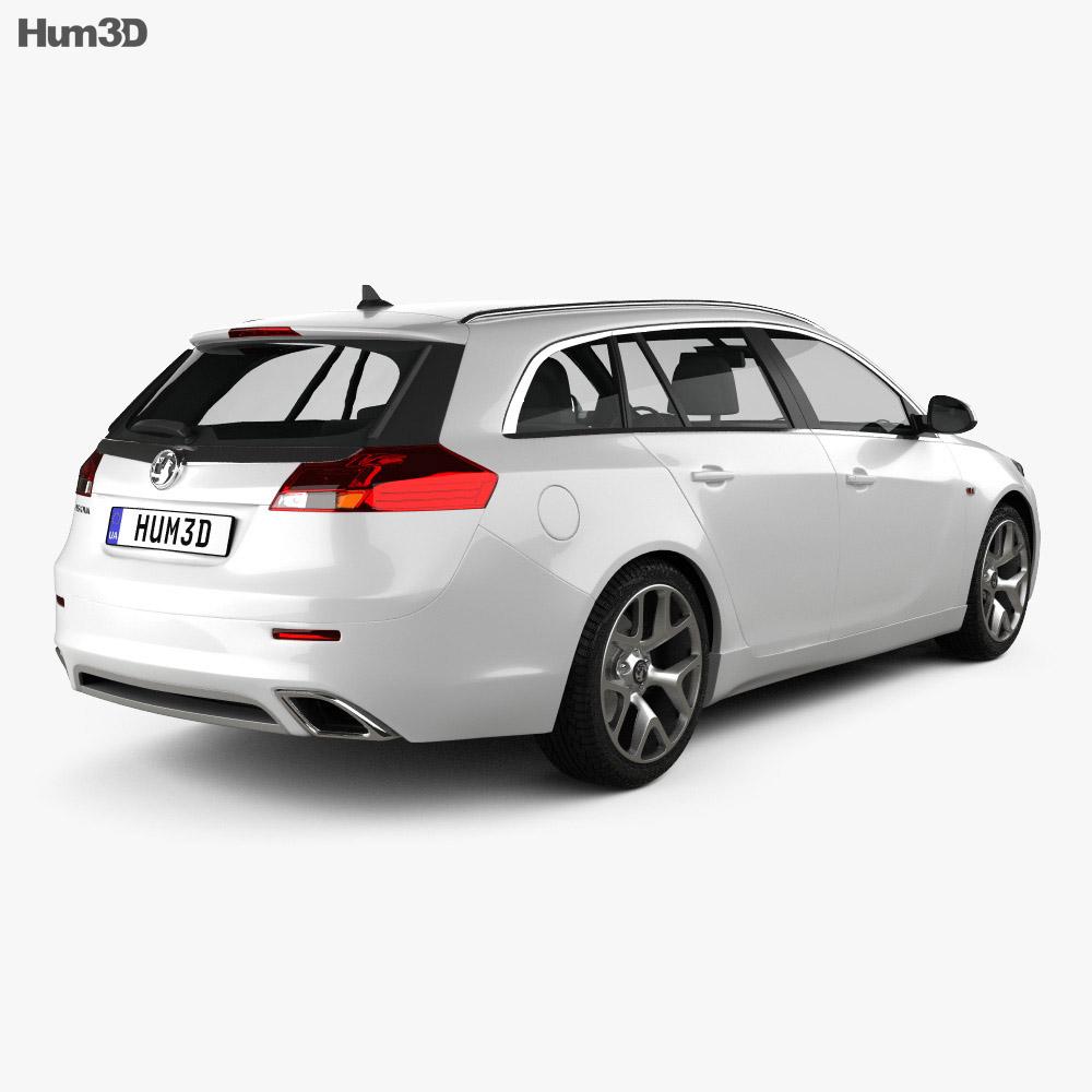 Vauxhall Insignia VXR Sports Tourer 2012 3d model