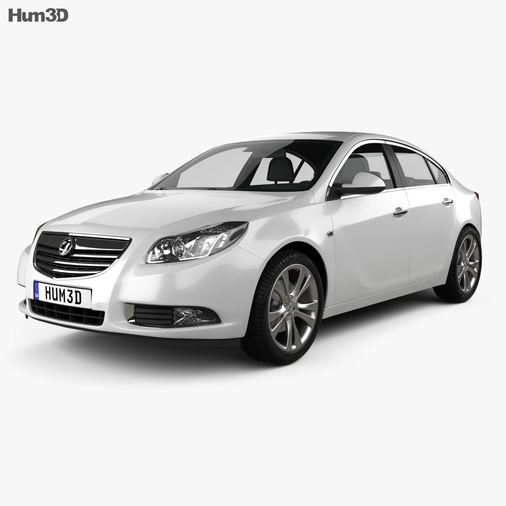 Vauxhall Insignia hatchback 2012 3d model