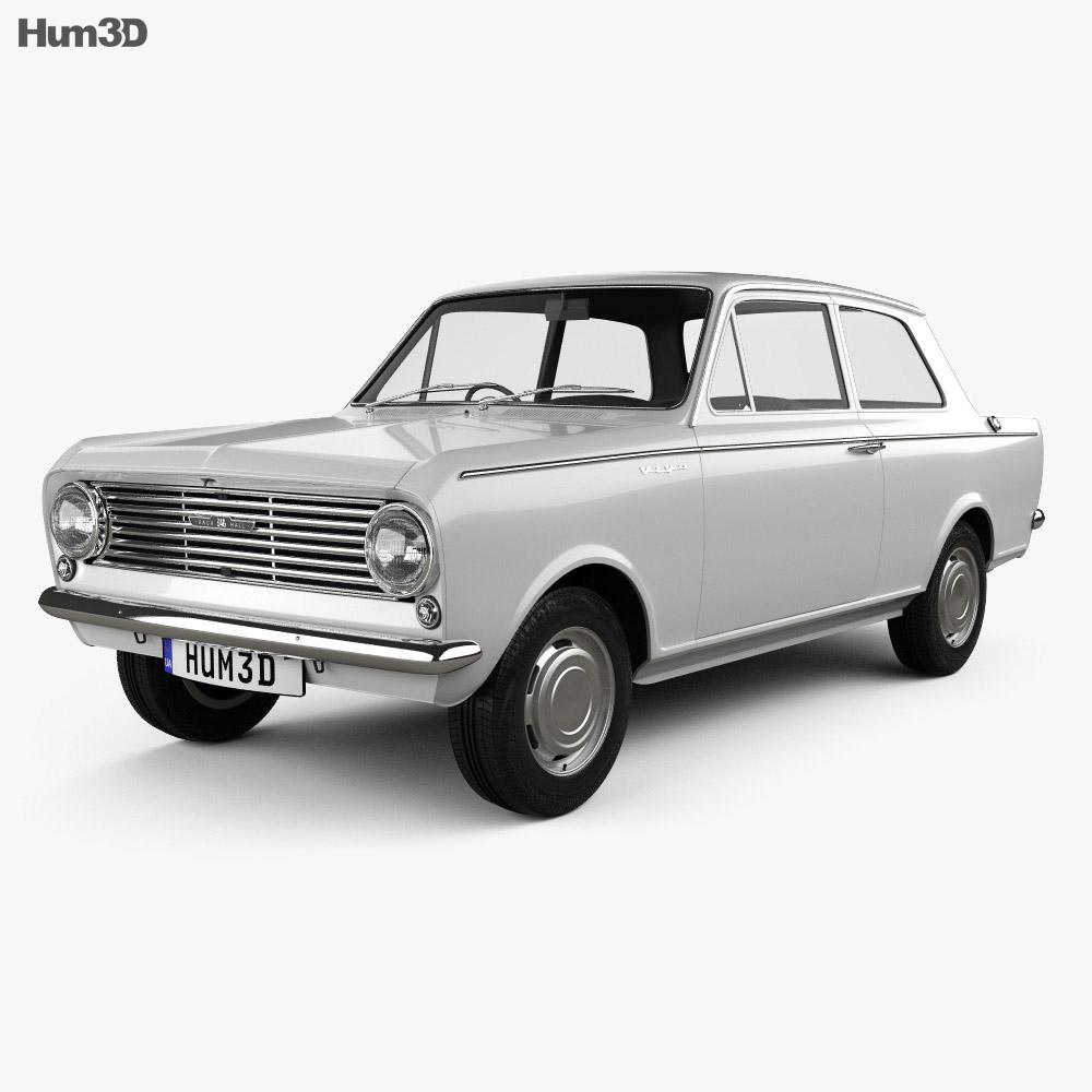 Vauxhall Viva 1963 3d model
