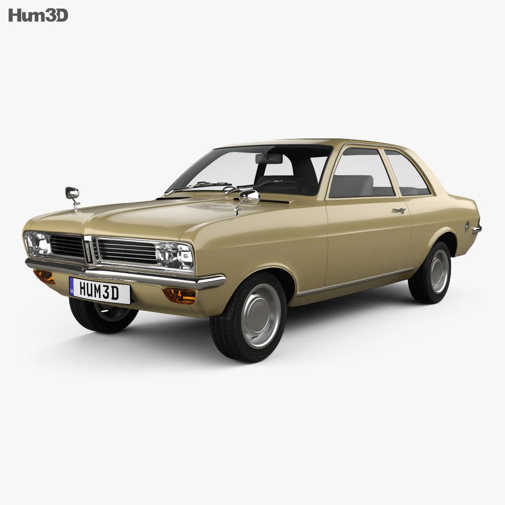 Vauxhall Viva 1970 3d model