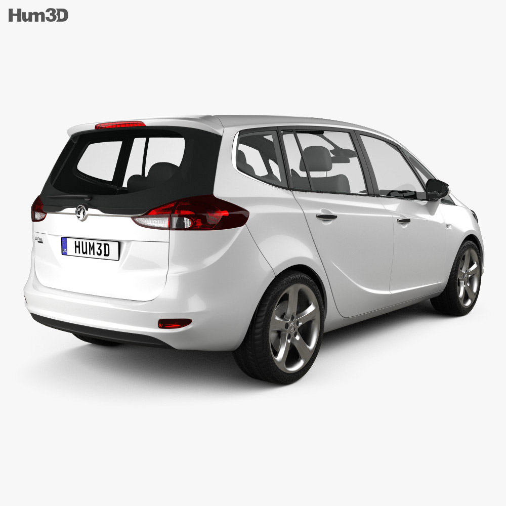 Vauxhall Zafira Tourer 2012 3d model