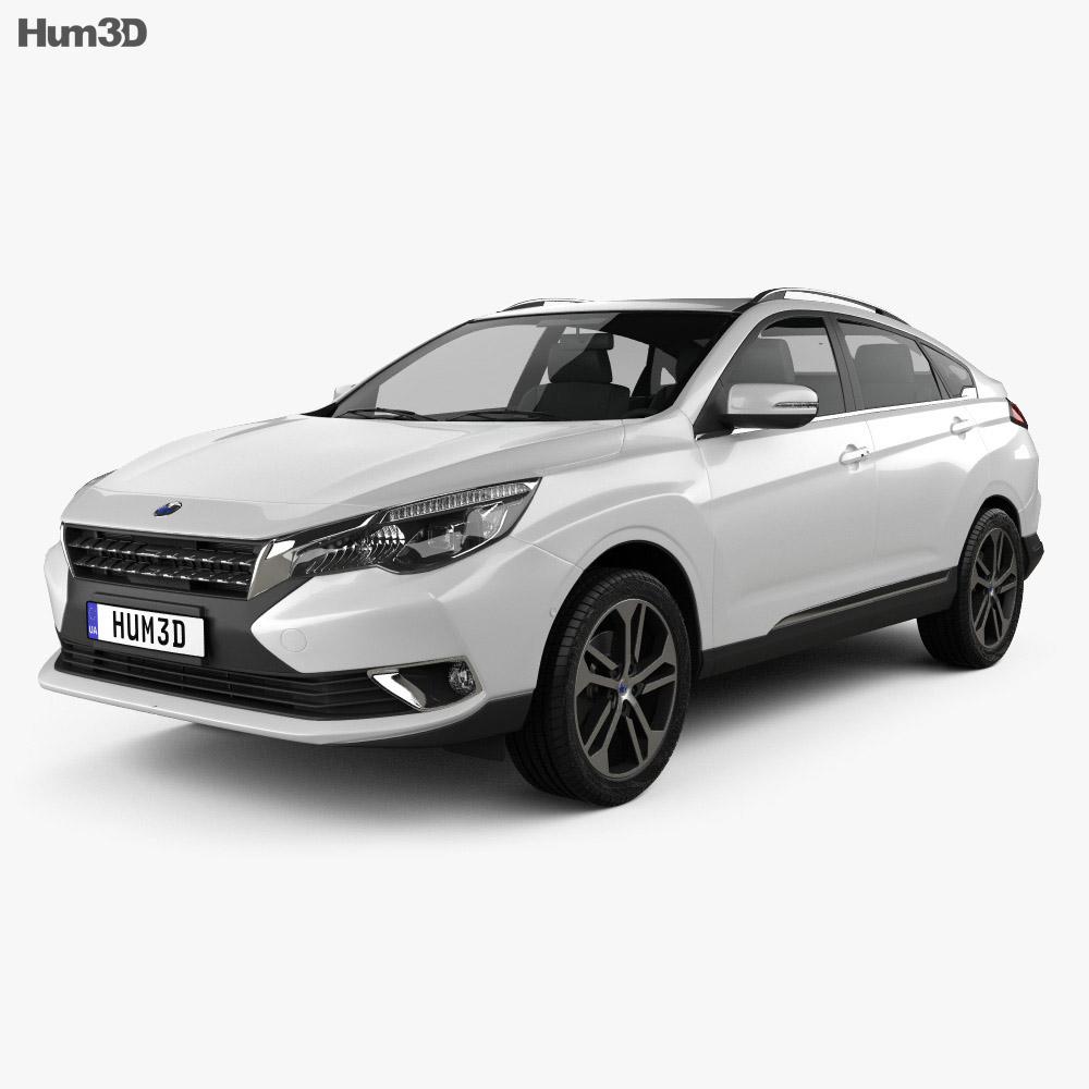 Venucia T90 2016 3d model