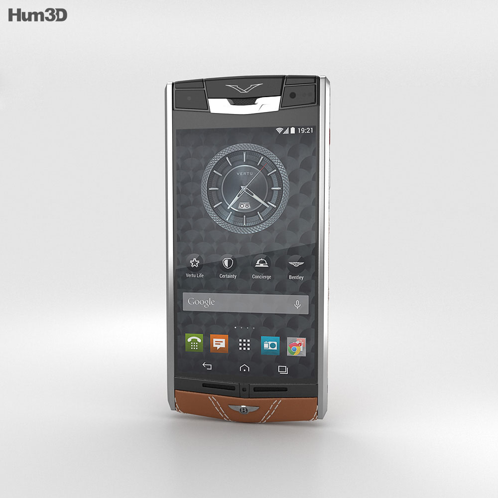 Vertu Signature Touch for Bentley 3d model