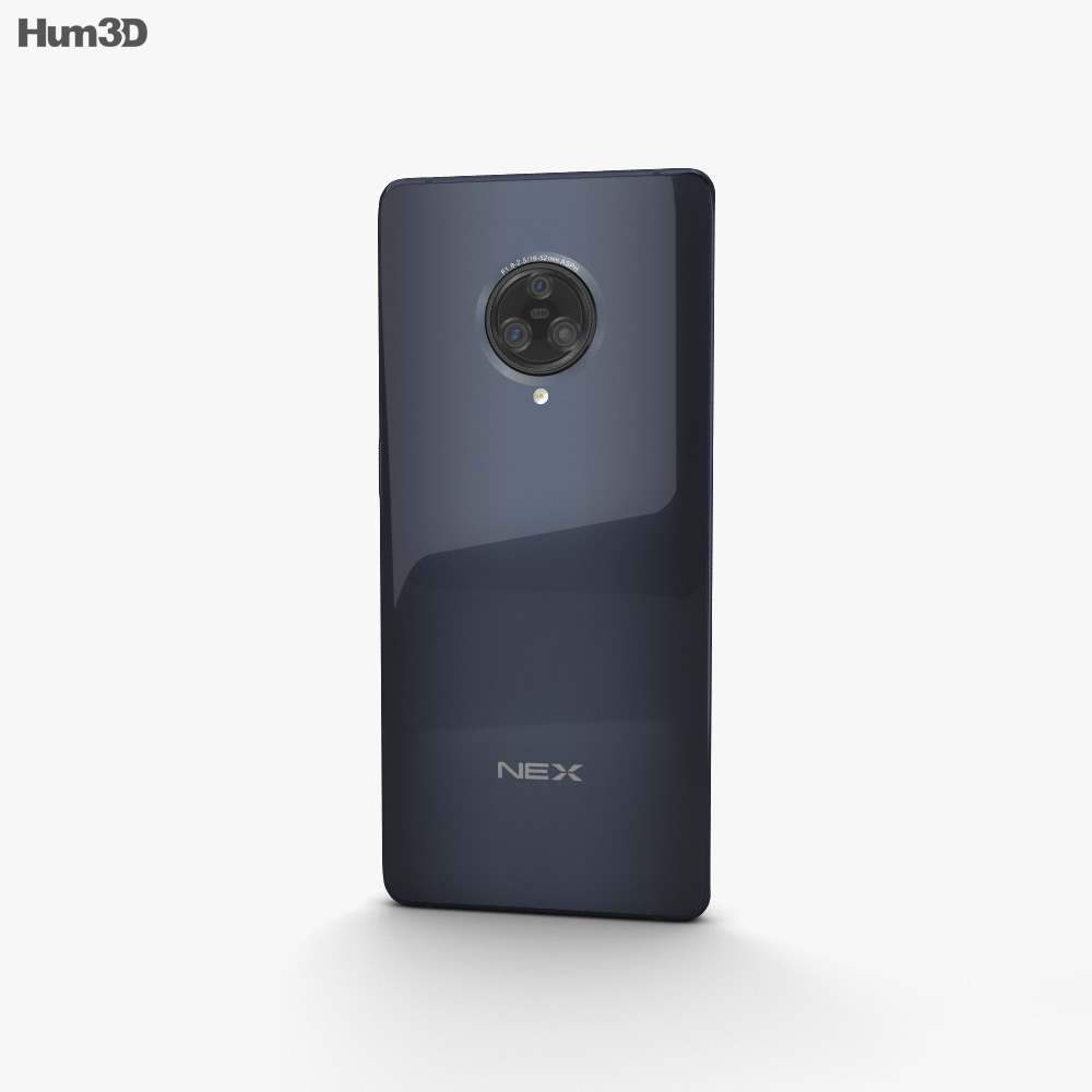 Vivo NEX 3 Black 3d model