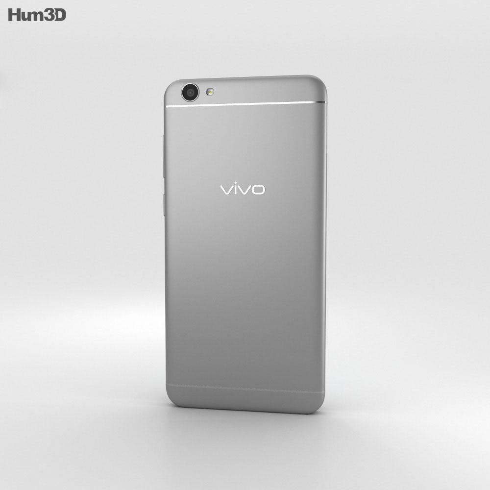 Vivo V5 Gray 3d model