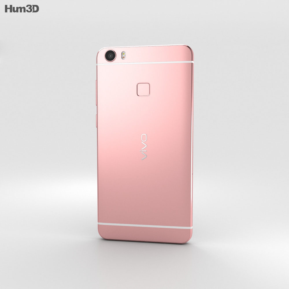 Vivo Xplay5 Rose Gold 3d model