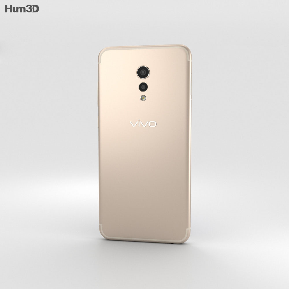 Vivo Xplay6 Gold 3d model
